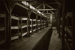 L'intérieur d'une barraque