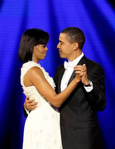 Barack Obama et Michelle