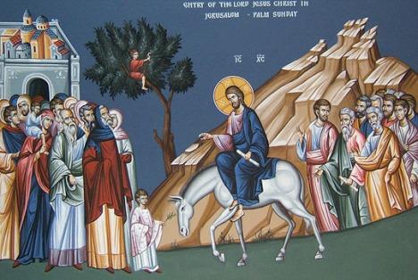 Jésus entre à Jérusalem