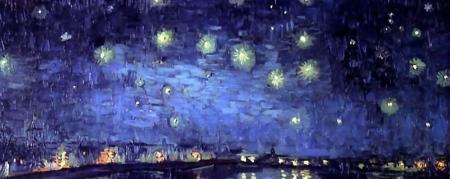 Nuit sur le Rhone